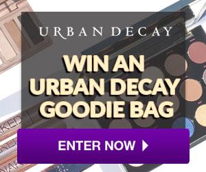 win urban decay goodie bag